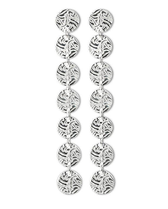 Örhängen Silver 7 Shield