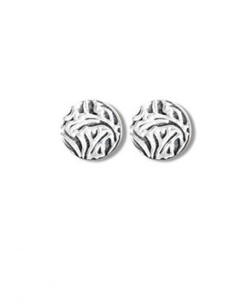 Örhängen Silver Mini Shield Ear Stud