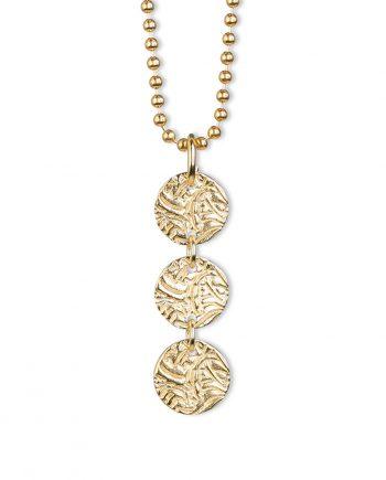 Halsband Guld 3 Shield