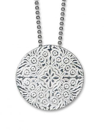 Halsband Silver Shield