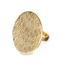 Ring Guld Shieldmaid My Story Statement