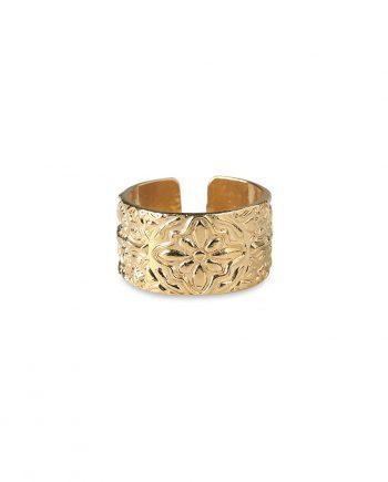 Ring Guld Shieldring