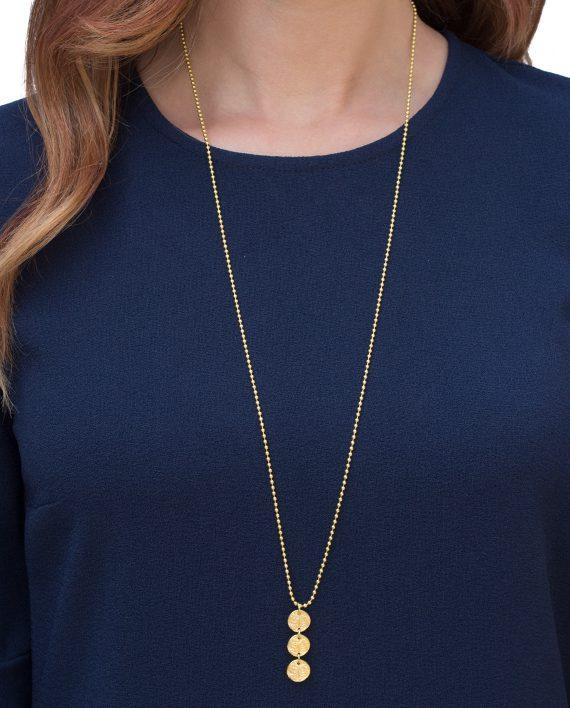 Halsband-Guld-3-Shield-Modell-Shieldmaid-1895-SEK