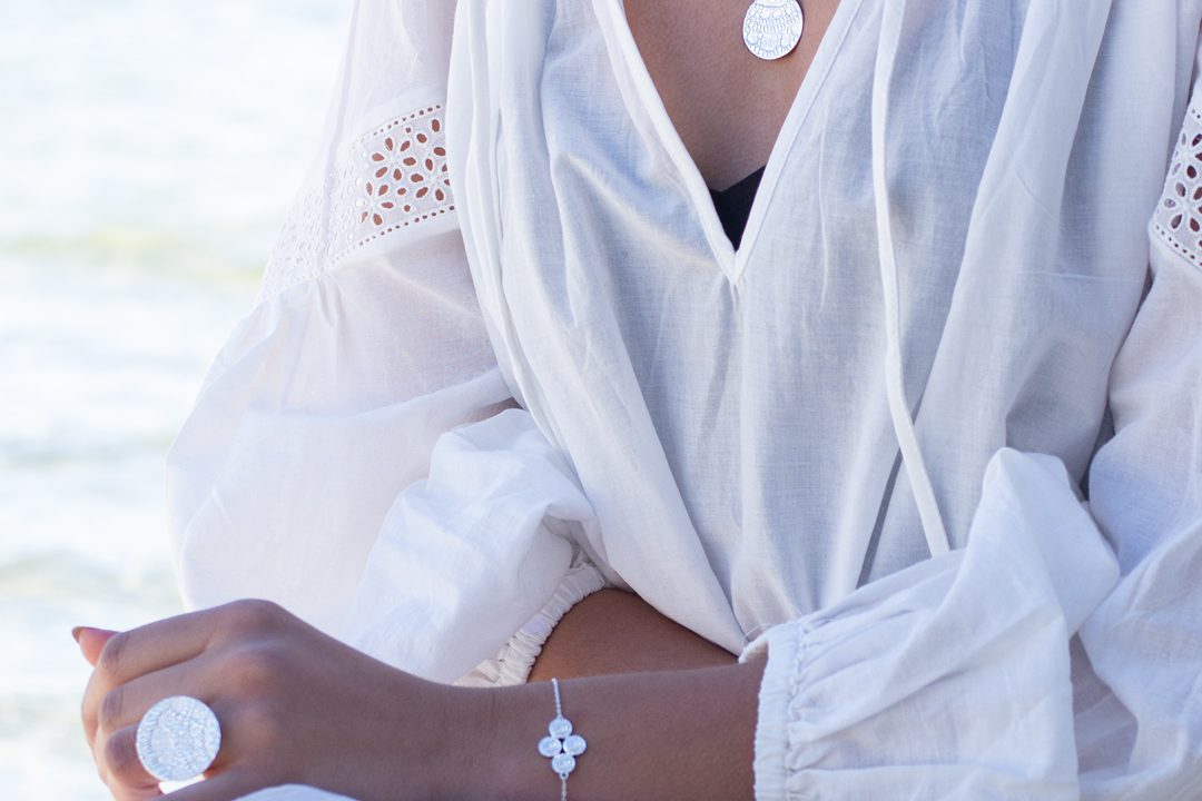 Necklace-Silver-My-Story-Vera-White-Dress-Beach-ON-1080-1080-